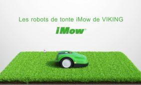 Découvrez les tondeuses iMow Viking en vidéo