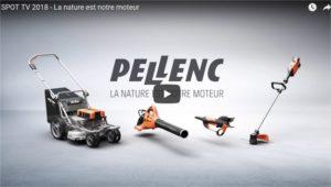 SPOT TV 2018 Pellenc – La nature est notre moteur