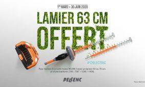Offres Pellenc du 01 Mars au 30 Juin